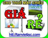 cho thue may chieu gia re